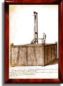 First document showing the guillotine