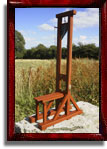 Model 1792 guillotine in scale 1:5