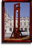 Model 1792 guillotine at the Place du Carrousel