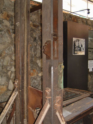 A 1870 guillotine in Vietnam